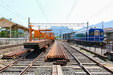 railway transportation: Railway station transportation industry, business transport by train.