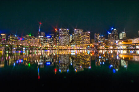 Darling Harbour view Editorial