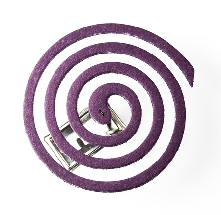 Coil of Mosquito-Repellent with Lavender Fragrance photo