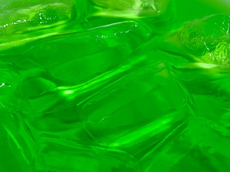 invigorate: Green Soda with Melted Ice Background