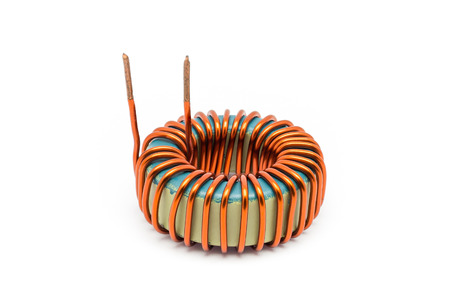 Ferrite Toroid Inductor for Switching Power Supply. photo