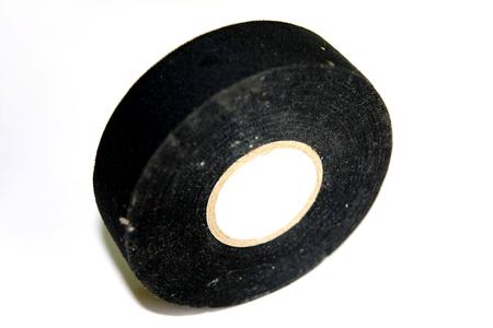 adhesive black fabric tape photo