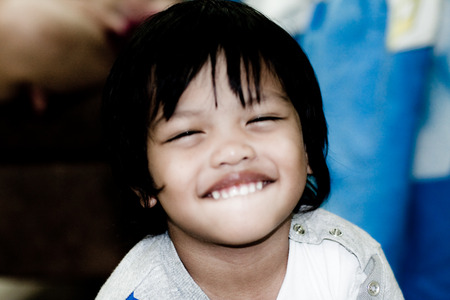 offsprings: good feel and smiling Thai Boy