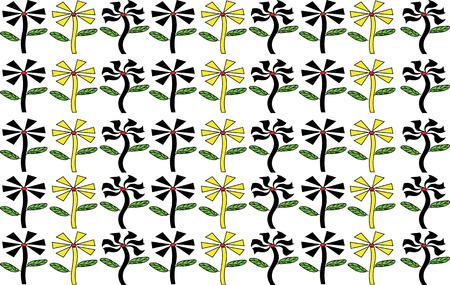 illustrator: Illustrator Background flower Shape