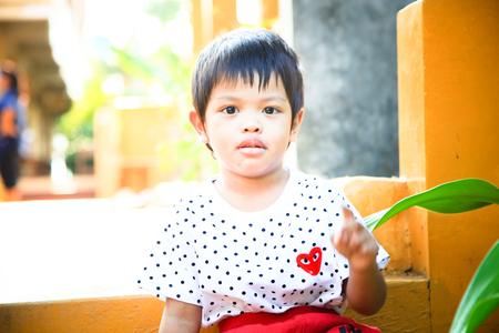 deity: little deity boy Stock Photo