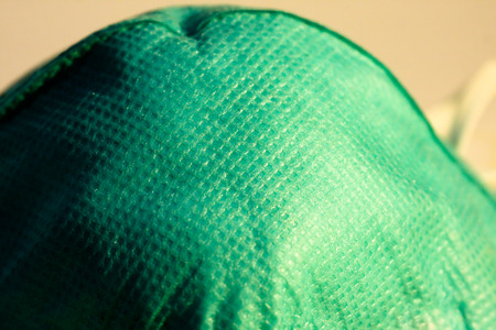 contagious: green color protect mask