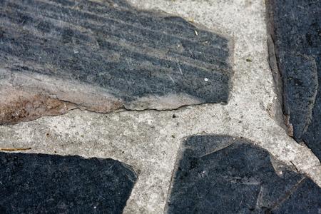 Bloc de trottoir de brique Banque d'images - 44264800