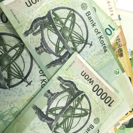Korea Ten Thousand Won Banknotes
