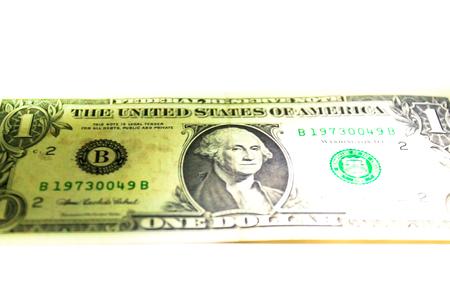 United State of America One Dollar Banconote Archivio Fotografico - 55039219