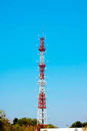 generate: Communication Tower receiver and generate
