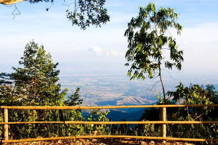 Natural view Phu Tub Berk Thailand place Stock Photo