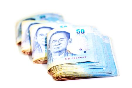 Thai Banknotes Archivio Fotografico - 93970303