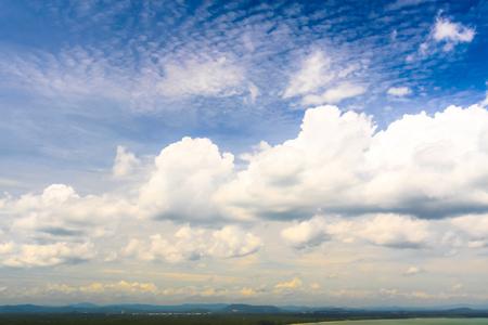 beautiful natural sky view blue sky and cloud Archivio Fotografico - 110521852
