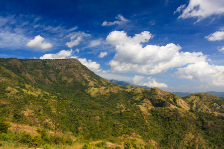 Petchaboon Thailand beautiful Mountain and blue sky Archivio Fotografico - 110521853