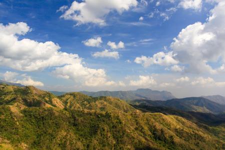 Petchaboon Thailand beautiful Mountain and blue sky Archivio Fotografico - 110441493
