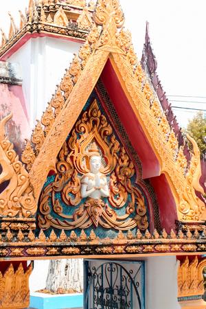 History architecture temple building in thailand Archivio Fotografico - 110441859