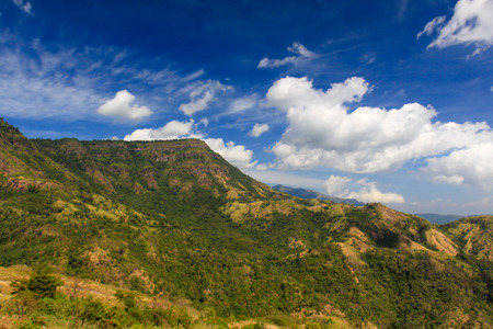 Petchaboon Thailand beautiful Mountain and blue sky Archivio Fotografico - 110441858