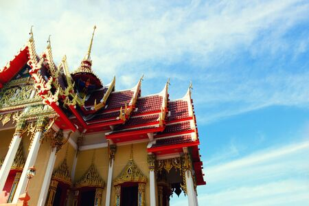 Beautiful Wat Thai,Thai temple design architecture building