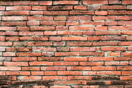 Brick of wall red brick background and pattern texture