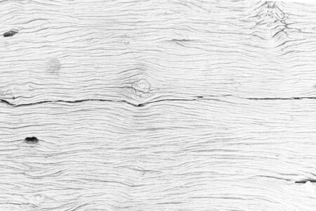 Light white Grungy cracked wooden floor closeup textured and background