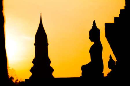 encircling: Thailand, Sukhotha Sunset