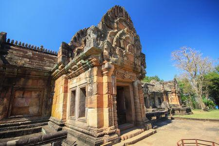 buriram: ancient castle phanomrung,buriram thailand Editorial