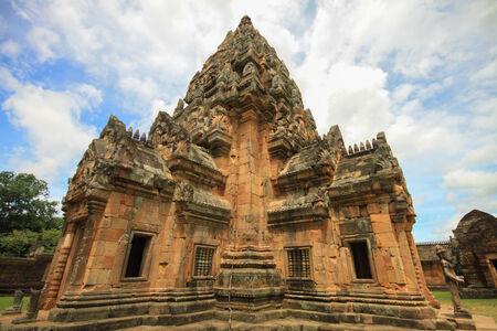 buriram: Architecture in Phanonrung Buriram Stock Photo