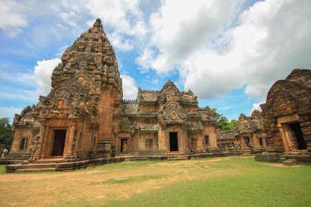 buriram: ancient temple of phanomrung, buriram, thailand Stock Photo