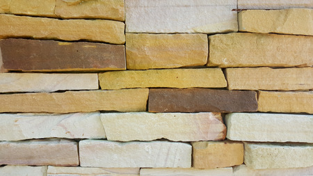 stacked stone: Stacked Stone Wall Texture Background