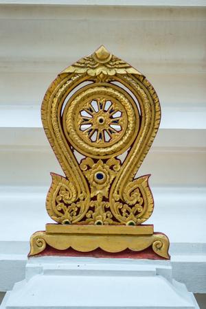 lanna: A parapet In Lanna temple