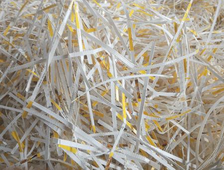 ferraille: d�chets de papier pour le recyclage