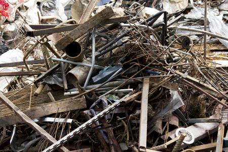 ferraille: ferraille pour le recyclage