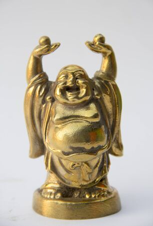 buddha statue: smile buddha statue, god of wealth, happiness and lucky