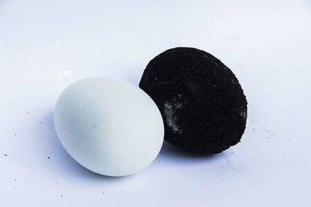 duck egg: salted duck egg