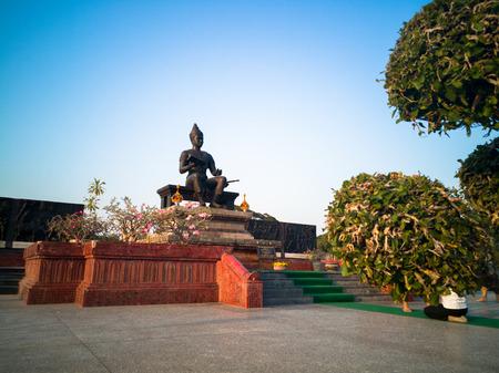 king ramkhamhaeng: King Ramkhamhaeng Monument, Sukhothai Historical Park,Thailand