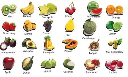 grosella: frutas