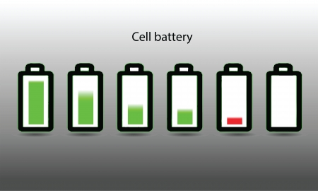 cell battery Stock Vector - 21306407