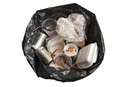 Garbage bags Stock Photo
