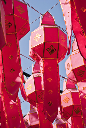 lanna: Lanna lanterns Stock Photo