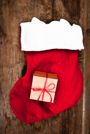 Socks with gifts photo