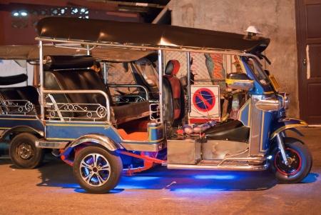 tuk: Tuk Tuk Night Stock Photo