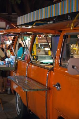 negocios comida: Tienda Vans Foto de archivo