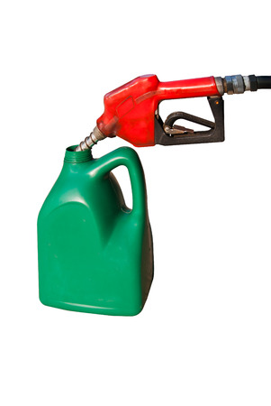 gallons: Gallons of fuel Stock Photo