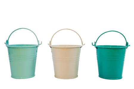 bucket water: La cubeta de agua Foto de archivo