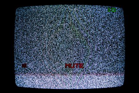 No TV signal photo