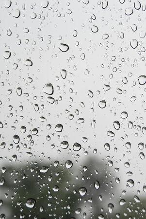 wiper: Windshield rain Stock Photo