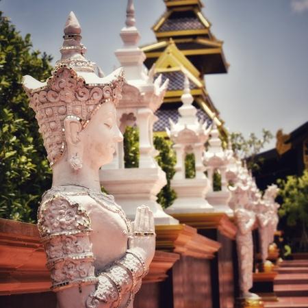 Statue in attraction, Suanthai Pattaya Thailand Public