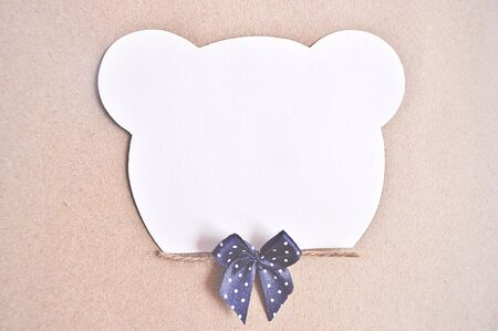 notepaper: Notepaper with Bear