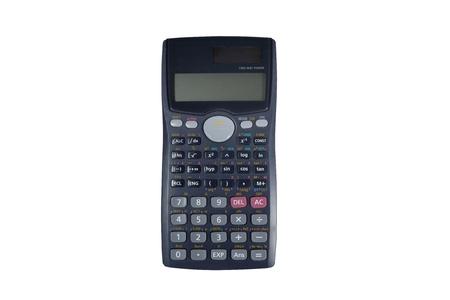 Calculatrice scientifique avec l'énergie solaire Banque d'images - 9845872
