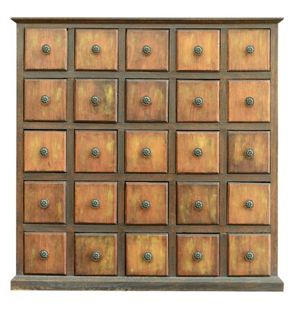 chinese herbs: Old Wooden Drawers